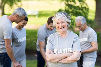 Volunteer in Senior Living Communities